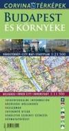 Budapest és környéke várostérkép