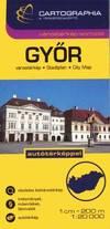 Győr várostérkép (1:20 000)