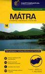 Mátra 1 : 40 000 - Turistatérkép