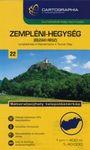 Zempléni-hegység (északi rész) 1 : 40 000 - Turistatérkép