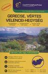 Gerecse, Vértes, Velencei-hegység 1:40 000, 1:25 000 - Turista