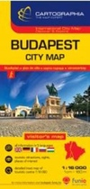 Budapest City map 1:16 000 SC