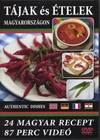 Tájak és ételek Magyarországon DVD