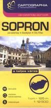 Sopron várostérkép (1:12500)