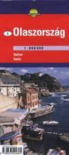 Olaszország (déli rész) térkép (1:800 000)