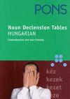 PONS Noun Declension Tables