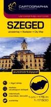 Szeged várostérkép 1:17 500 SC